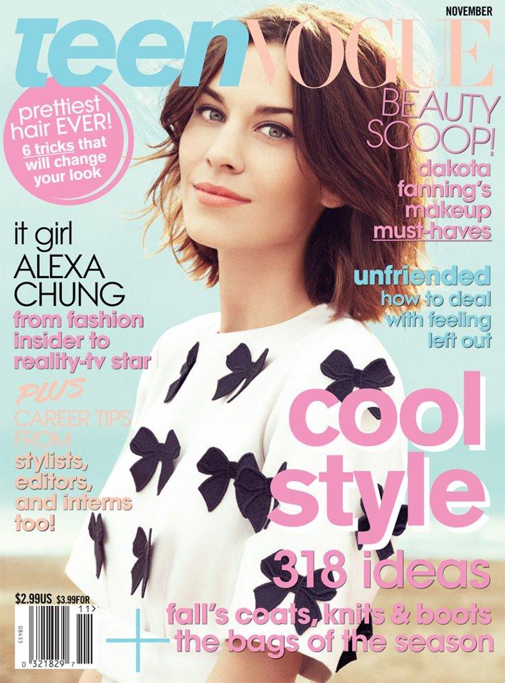 Otro DIY fácil: el cropped top de Alexa Chung para Teen Vogue